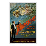 The Vanishing Car, 1925. Vintage Magician Poster