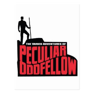 The Varied Adventures of Peculiar Oddfellow Postcard