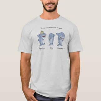 The Various Personalities of Sharks T-Shirt