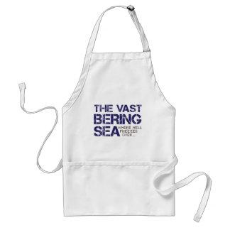 THE VAST BERING SEA... ADULT APRON