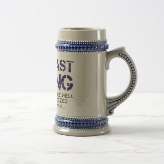 THE VAST BERING SEA... BEER STEIN