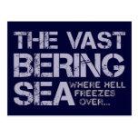 THE VAST BERING SEA... POST CARD