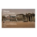 The Vatican I, Rome, Italy classic Photochrom Business Card Templates