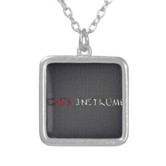 The VCVH Records AB .Indie Music LLC.jpg Square Pendant Necklace