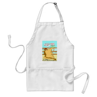 The Vegan Anteater And The Vegan Chocolate Covered Adult Apron
