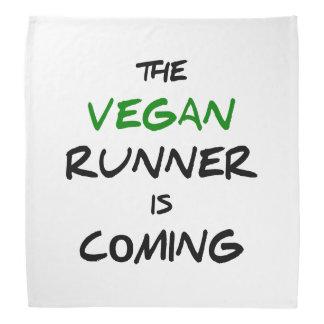 The vegan runner is coming bandana