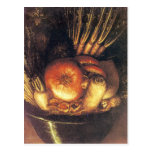 The Vegetable Bowl by Giuseppe Arcimboldo Post Card