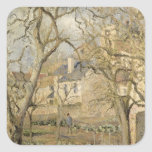 The Vegetable Garden, 1878 Square Stickers