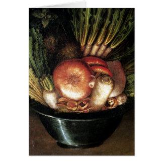 The Vegetable Gardener - 1590 Card