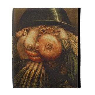 The Vegetable Gardener, c.1590 (oil on panel) iPad Cases