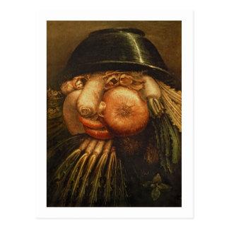 The Vegetable Gardener, c.1590 (oil on panel) Postcard