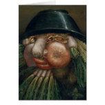 The Vegetable Gardener - Giuseppe Arcimboldo Card