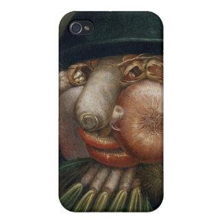 The Vegetable Gardener - Giuseppe Arcimboldo Cases For iPhone 4