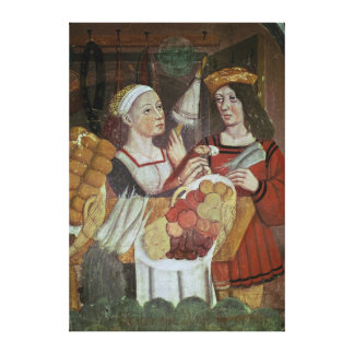 The Vegetable Market Canvas Print