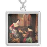 The Vegetable Seller Personalized Necklace