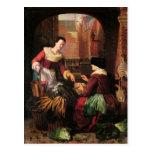 The Vegetable Seller Postcards