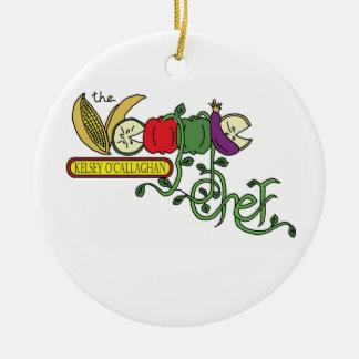 The Veggie Chef Ordament Christmas Tree Ornament