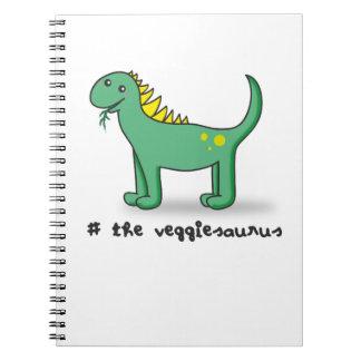 the veggiesaurus notebook
