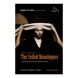 THE VEILED MONOLOGUES PRINT