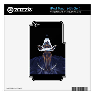 The Veiled One Decals For iPod Touch 4G