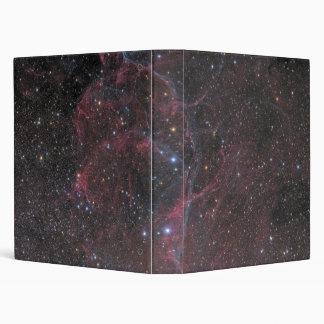 The Vela Supernova Remnant 3 Ring Binder