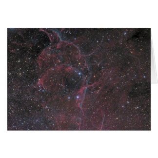 The Vela Supernova Remnant Card
