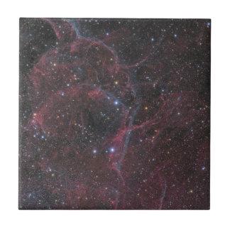 The Vela Supernova Remnant Ceramic Tile
