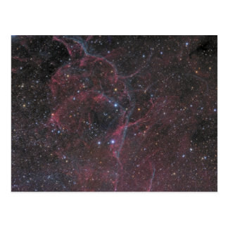 The Vela Supernova Remnant Postcard