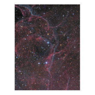 The Vela Supernova Remnant Postcard