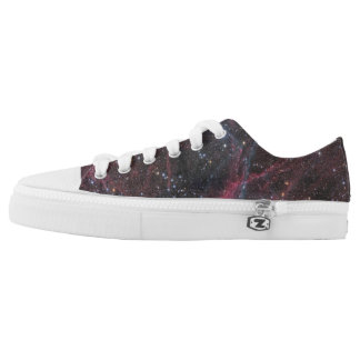 The Vela Supernova Remnant Printed Shoes