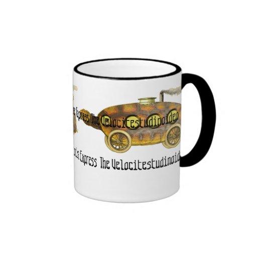 The Velocitestudinoidea ~ Tortoise Express Ringer Mug