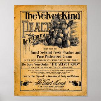 The Velvet Kind Ice Cream Print - Poster