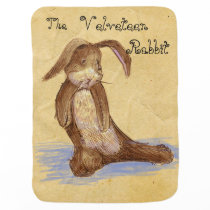 """The Velveteen Rabbit"" BABY BLANKET"