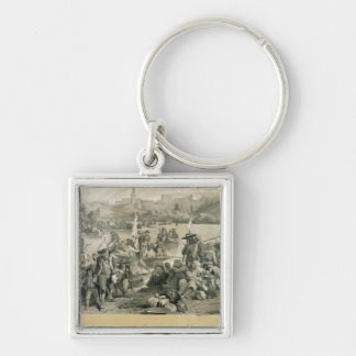The Vendean Army Crossing the Loire Keychain