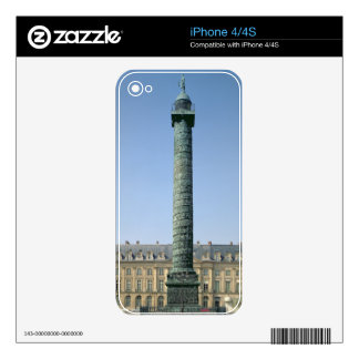 The Vendome Column, with bas-reliefs recording Nap Decal For The iPhone 4S