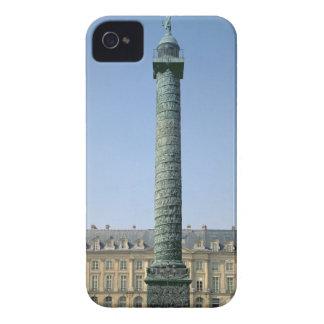 The Vendome Column, with bas-reliefs recording Nap iPhone 4 Case-Mate Case