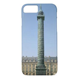 The Vendome Column, with bas-reliefs recording Nap iPhone 7 Case