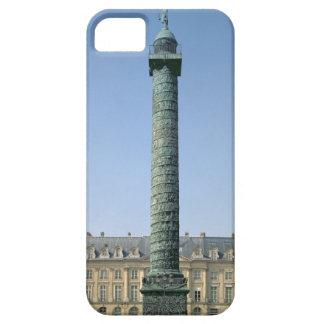 The Vendome Column, with bas-reliefs recording Nap iPhone SE/5/5s Case