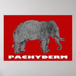 The Venerable Pachyderm 36 x 24 Poster