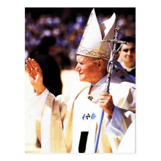The Venerable Pope John Paul II Postcard