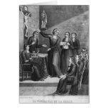 The Venerable Saint Jean-Baptiste de La Salle Card