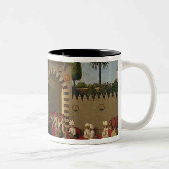 The Venetian Ambassador's Interview Two-Tone Coffee Mug