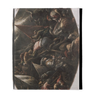 The Venetians Capturing Padua (oil on canvas) iPad Folio Covers