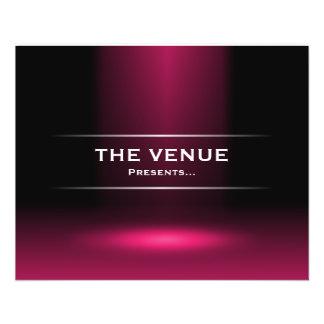 The Venue Presents - Crimson Custom Flyer