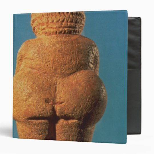 The Venus of Willendorf 3 Ring Binder