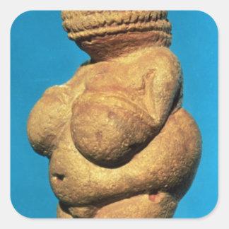 The Venus of Willendorf Square Sticker