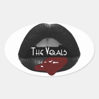The Verals Oval Sticker