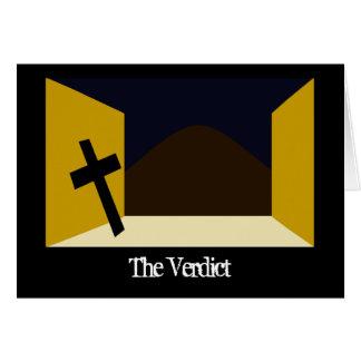 The Verdict Card