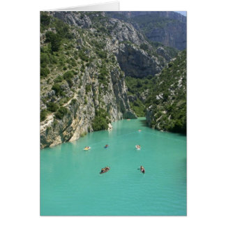 The Verdon Gorge Card