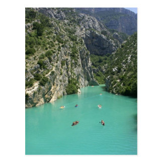 The Verdon Gorge Postcard